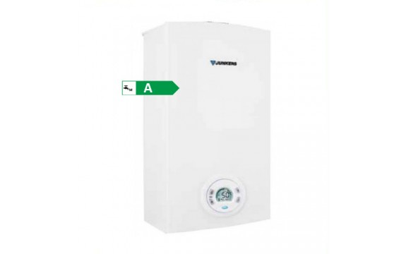 SCALDABAGNO A GAS JUNKERS BOSCH HYDROCOMPACT INDOOR 12 LT mod. WTD 12 AM E COMPLETO DI KIT FUMI GPL