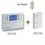 CRONOTERMOSTATO RADIO WIRELESS SEITRON - KIT FREETIME PLUS via RADIO