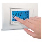 SOLARIS CRONOTERMOSTATO TOUCH SCREEN AD INCASSO mod. TOUCH SENSO I estate/inverno